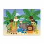 Jungledyr - navneplakat dreng