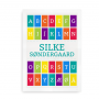 Navneplakat med alfabet multi