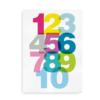 Helvetica Talplakat - plakat sat med Helvetica