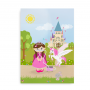 Plakat til piger med respirator - CCHS Princess brown hair - Someone Rare