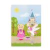 Plakat til piger med respirator og tracheostomi - CCHS Princess blonde - Someone Rare