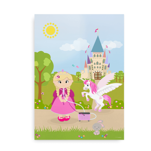 prinsesse med trach - blonde