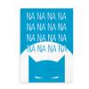 Poster print med Batman - blå