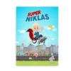 Superhelt i kørestol - Plakat til drenge i kørestol