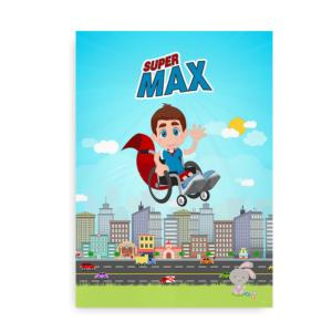 Plakat til kørestolsbrugere -