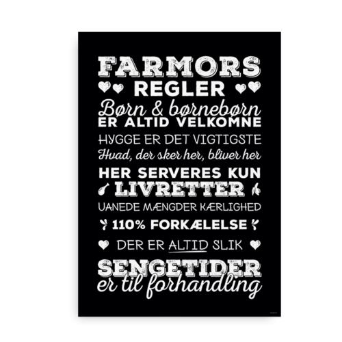 Farmors regler hvid-sort 2