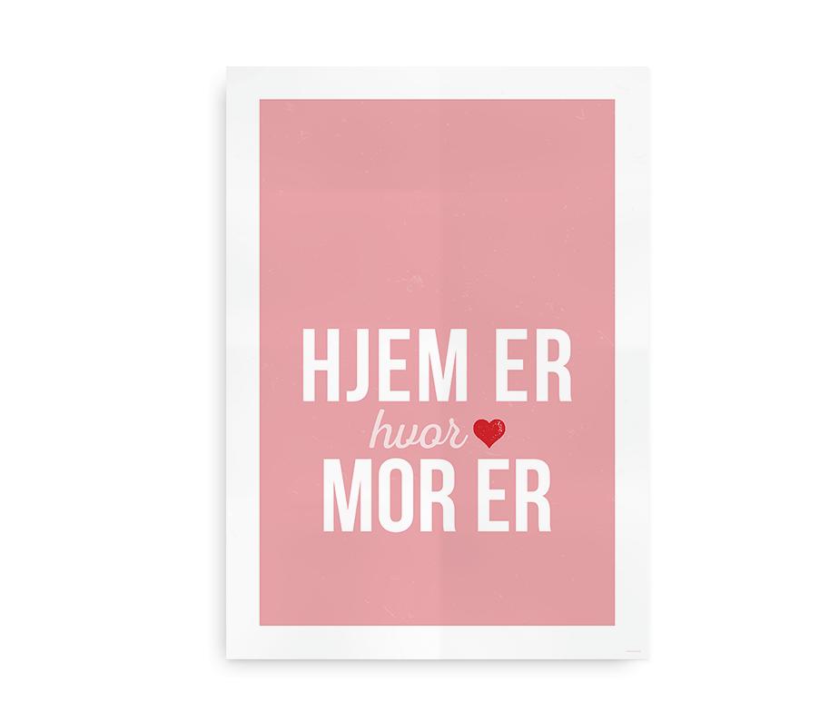 mors dag citat Hjem er, hvor mor er   perfekt gave til Mors Dag på navneleg mors dag citat
