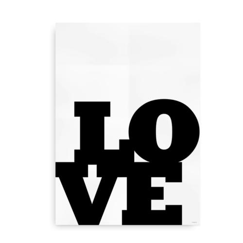 Love Love Love hvid