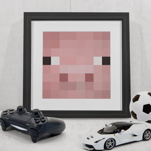 Minecraft Gris plakat