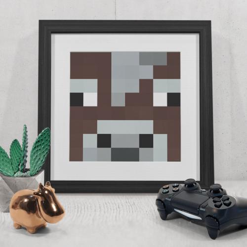 Minecraft ko plakat