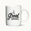 The Great Indoors - kaffekrus med tekst