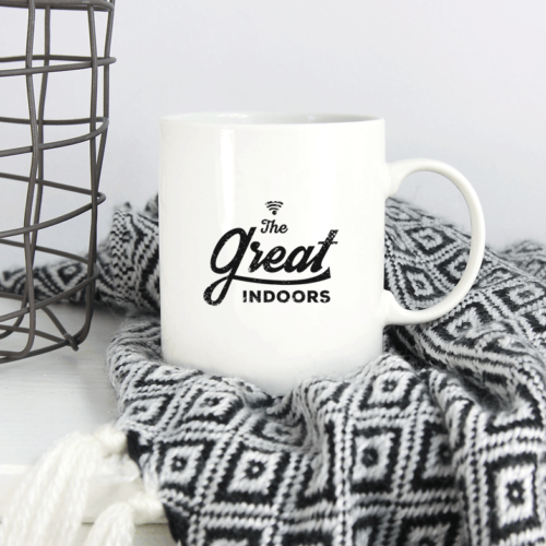 The great indoors - krus med tryk