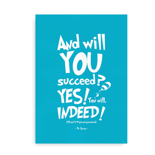 And will you succeed blå