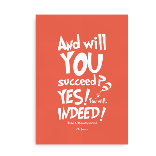 And will you succeed orange
