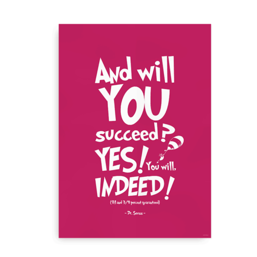 And will you succeed pink