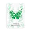 Børn med handicap er som sommerfugle med brækkede vinger - grøn plakat