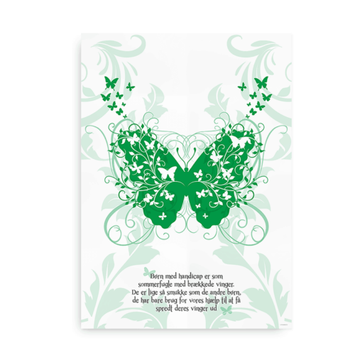 Børn med handicap er som sommerfugle med brækkede vinger