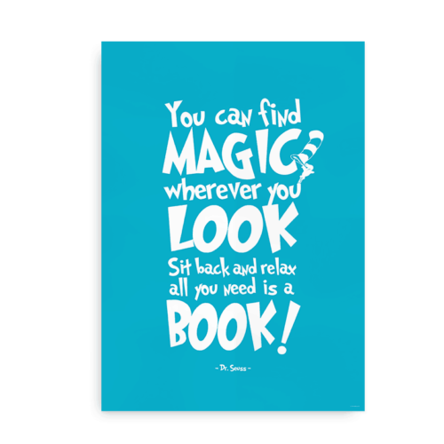 You can find magic - blå