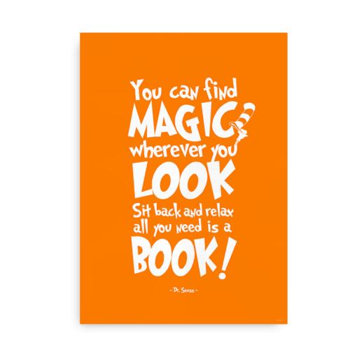 You can find magic - orange