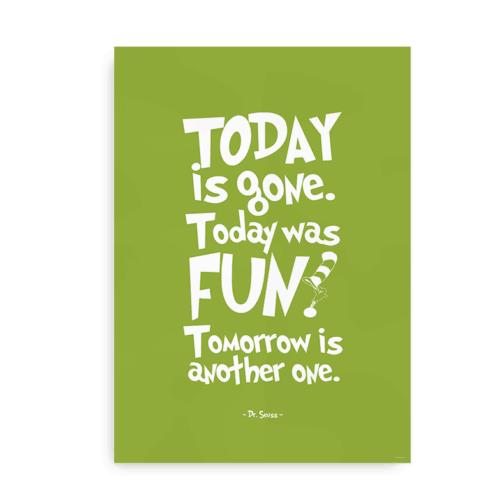 Today is Gone - grøn