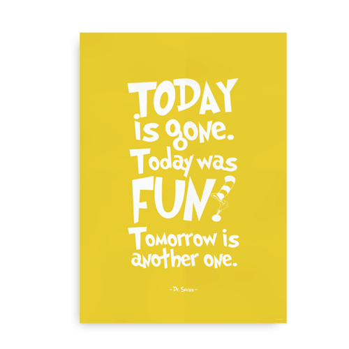 Today is Gone - gul
