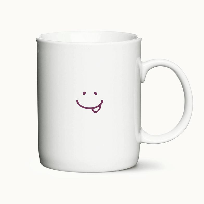 "Kaffekrus med trykket ""I don't like morning people or mornings or people"""
