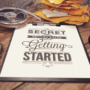 The Secret of Getting Ahead plakat til den kreative