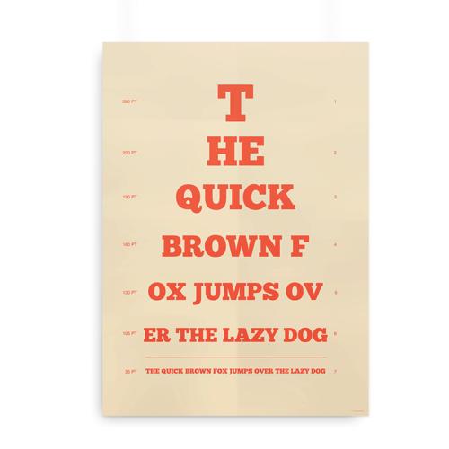 The quick brown fox synstavle orange 2