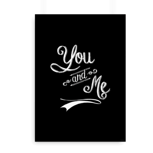 You and me sort