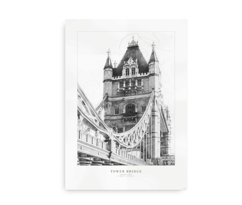 Tower Bridge - plakat