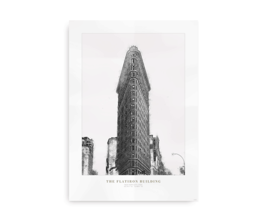 Flat Iron Building - plakat