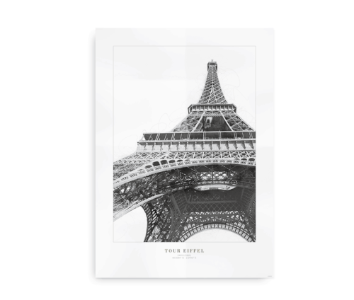 Tour Eiffel, Eiffeltårnet Paris - plakat