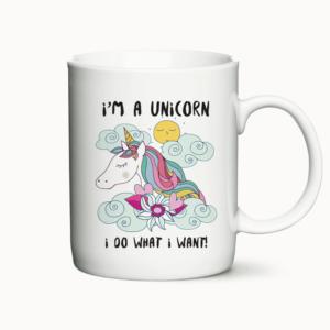 I'm a Unicorn - krus med citat