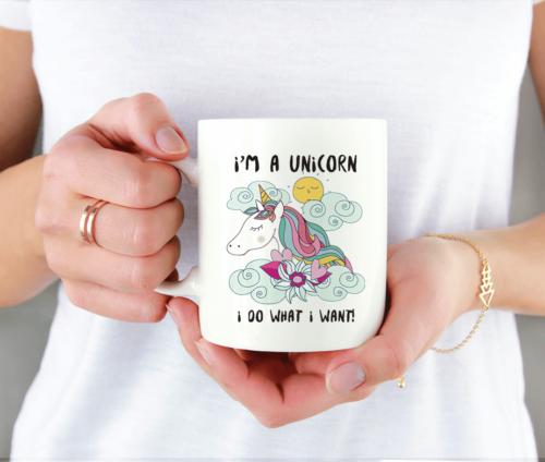 I'm a Unicorn - krus med enhjørning