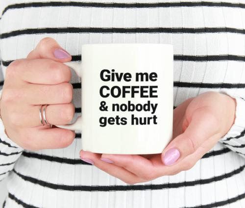 Give Me Coffee - krus