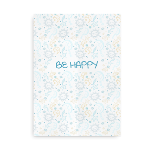Be Happy - plakat til drenge