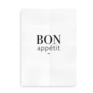 Bon Appetit - plakat til køkkenet