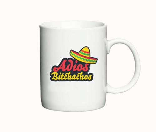 Adios Bitchachos - det ultimative krus til kontoret