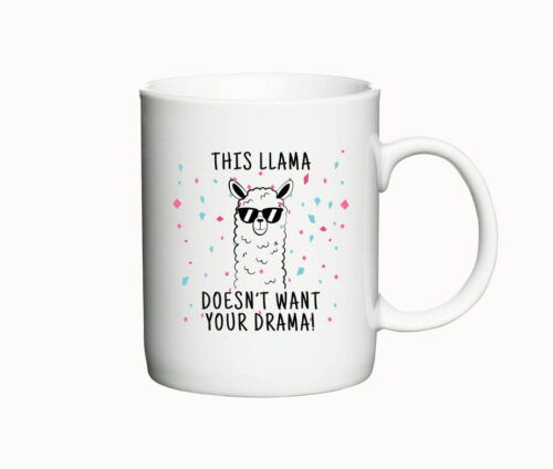 This llama doesnt want your drama - krus med lama