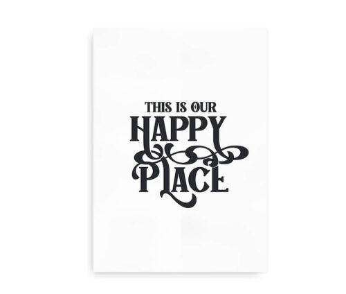 This is Our Happy Place - sort