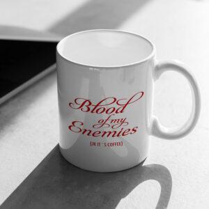 Blood of my Enemies - krus med tekst
