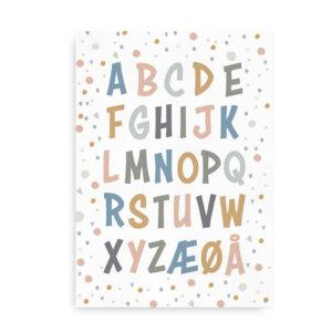 Confetti ABC - plakat
