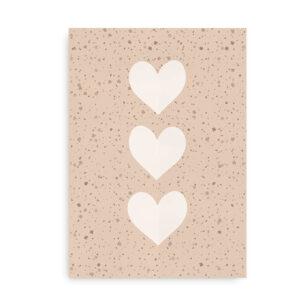 Confetti Hearts - plakat