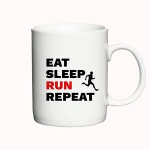 Eat, Sleep, Run, Repeat - Man - krus