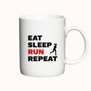 Eat, Sleep, Run, Repeat - Woman - krus