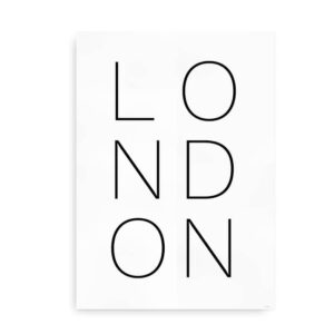 London - plakat