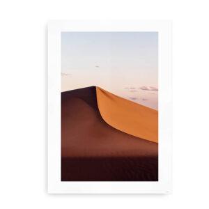 Sand Dunes - plakat med ørkenmotiv