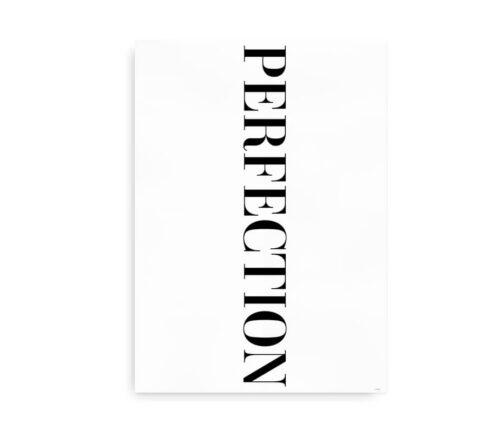 Perfection - citatplakat