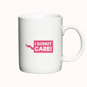 I Donut Care - krus side 1