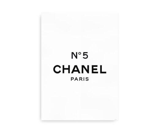 Chanel No. 5 - plakat til fashionistaen
